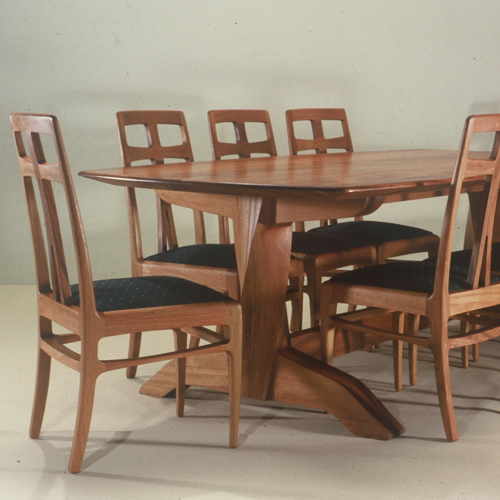 Handcrafted Dining Room Table And Chairs Artisans Of The Desert
