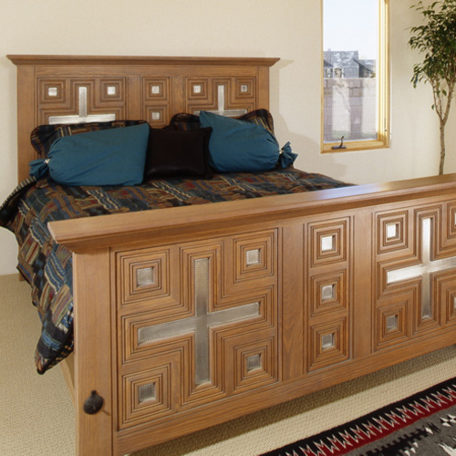 Custom Wood Bed