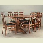 Handcrafted Dining Room Table and Chairs