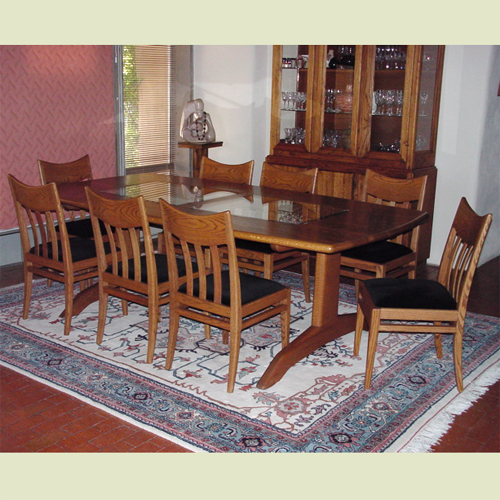 solid wood dining room table and chairs artisans of the desert