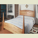 Custom Queen Wood Bed