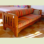 Handmade Wood Frame Sofa